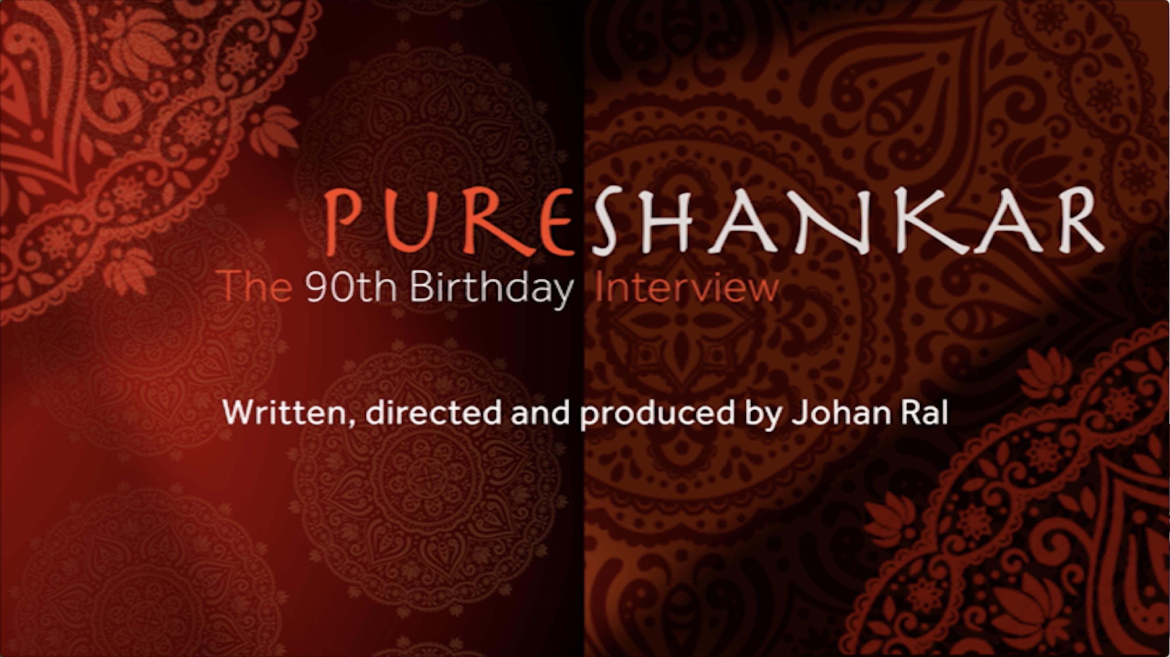 Pure Shankar - Interview Ravi Shankar
